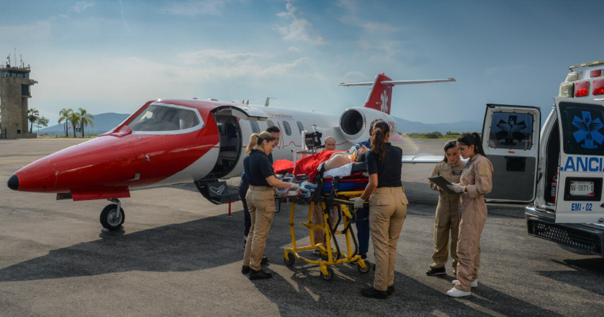 CASE STUDY: Breaking the limits on long range medical transports